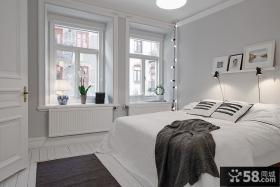 北欧风格卧室装饰效果图片