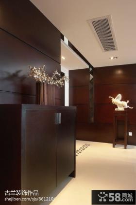 玄关鞋柜设计效果图片