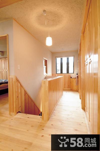 日式风格复式楼房装修设计图片