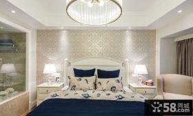 简欧风格卧室房间设计装修图片