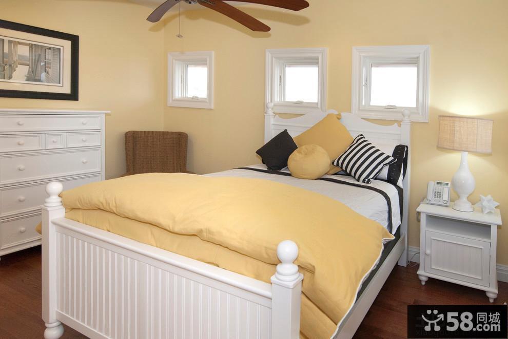 臥室裝修簡歐風格家具圖片