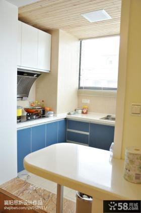 70平米小户型整体厨房装修效果图