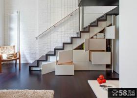 现代简约设计室内楼梯图片大全