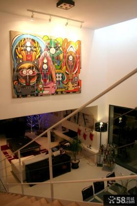 楼梯间家庭装饰画效果图