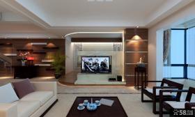 电视背景墙造型装修效果图大全2013图片