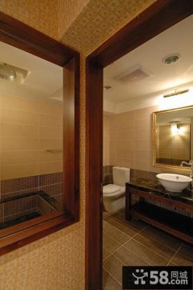 美式风格卫生间设计效果图