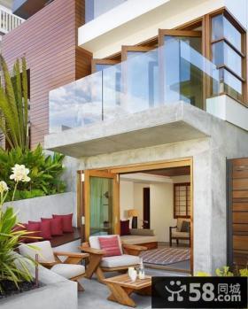 别墅一楼阳台装修效果图