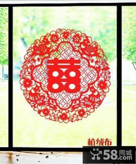 中式窗花剪纸图案