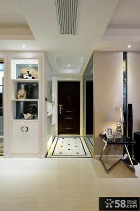 二居室现代风格玄关效果图
