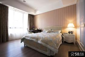 美式简约卧室装修设计图