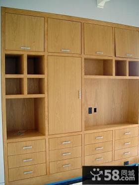 卧室实木衣柜效果图欣赏大全