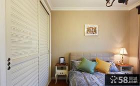 小空间卧室墙面漆效果图大全
