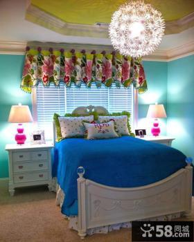 欧式风格女孩的房间设计图