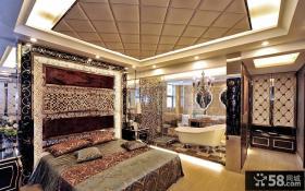 摩登奢华欧式卧室欣赏图
