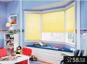 儿童房小卧室飘窗设计效果图