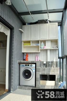家庭房间阳台装修效果图