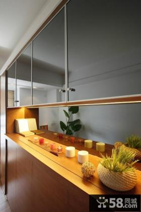 现代简约风格厨房台面设计