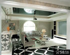 优质现代欧式客厅装修效果图
