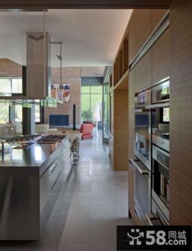 别墅开放式厨房设计