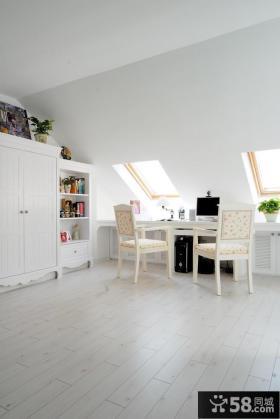 鬼手帕康城地中海风格复式楼书房装修效果图大全2012图片