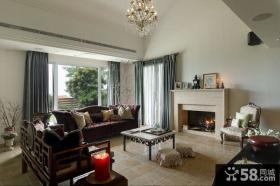 简欧风格复式家装室内图片