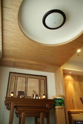 中式简约风格装修吊顶设计