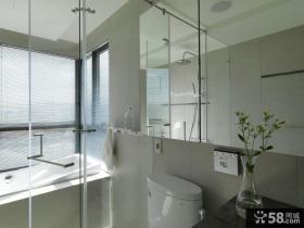 现代家装设计室内卫生间图片欣赏
