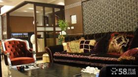 美式风格三室两厅设计装修图欣赏