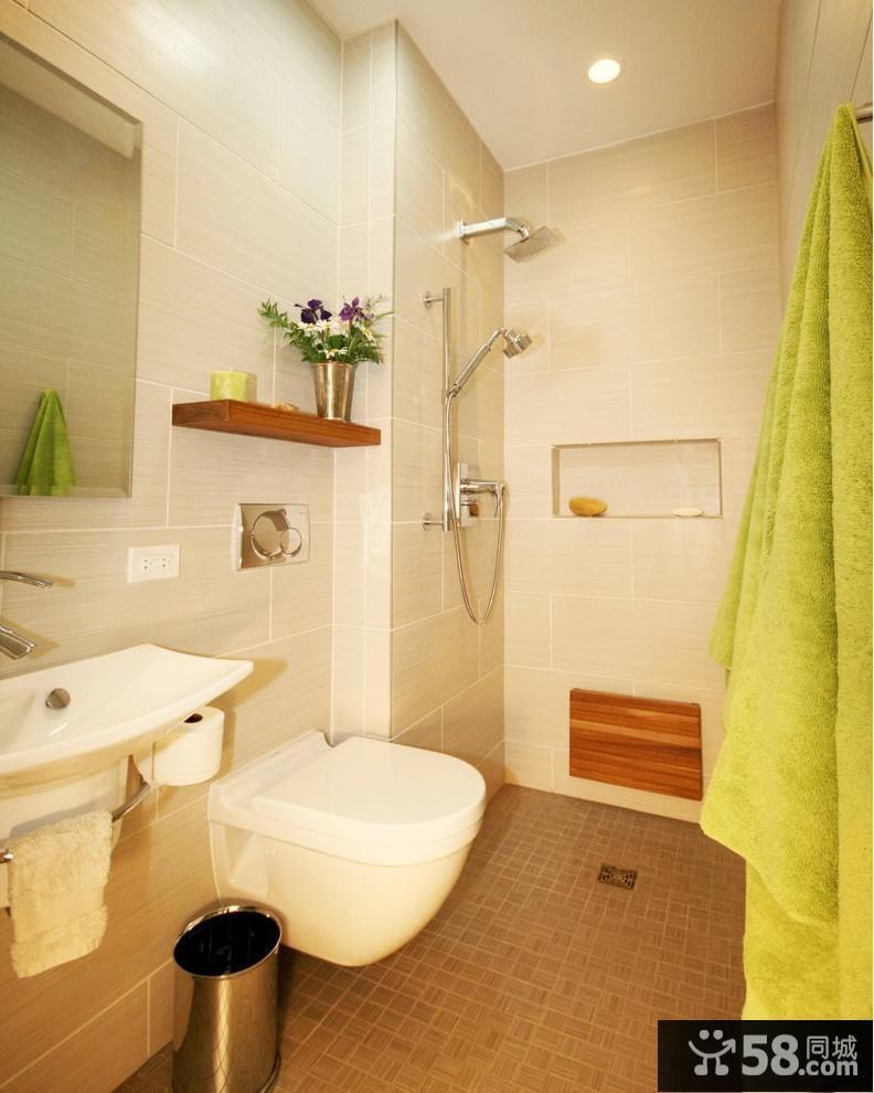 小卫生间浴室装修效果图