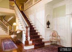 欧式别墅楼梯间设计