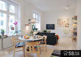 北欧风格50平小户型室内装修设计