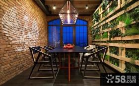 复古欧式风格家居餐厅设计效果图