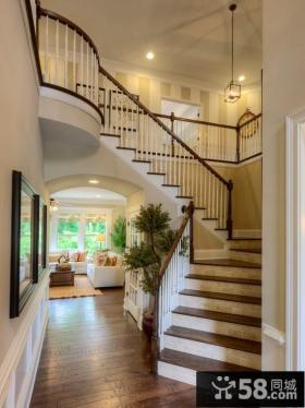 家装设计室内楼梯图片欣赏2014