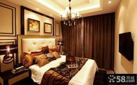 2014现代风格三室两厅卧室装修效果图