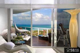 现代简约欧式风格客厅设计图片