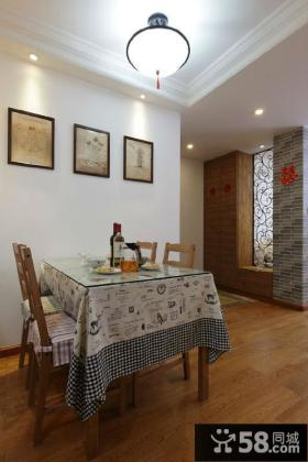 美式混搭两居室厨房装修案例