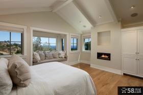 美式乡村风格客厅装修设计图片