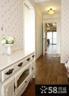 欧式风格三室两厅玄关过道装修效果图