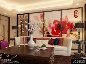 房子客厅背景墙装修效果图