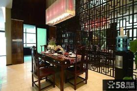 豪华古典新中式餐厅装潢