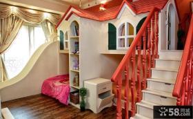 美式风格男孩儿童房装修效果图大全2014图片