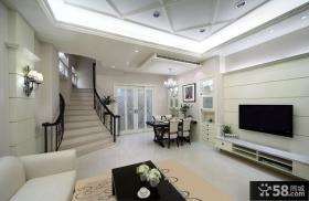 别墅室内家装设计效果图