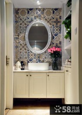 美式简约装饰卫生间效果图欣赏