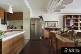 厨房餐厅装修效果图大全2013图片