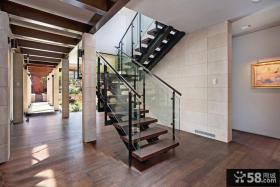 现代装修别墅楼梯设计