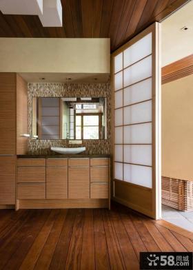 日式复式楼房装修案例效果图欣赏