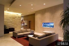 客厅3d背景墙效果图