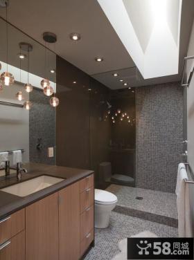 现代简约家装风格卫生间图片