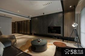 日式家庭设计客厅电视背景墙图片大全2014