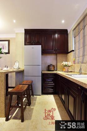 美式厨房设计图片